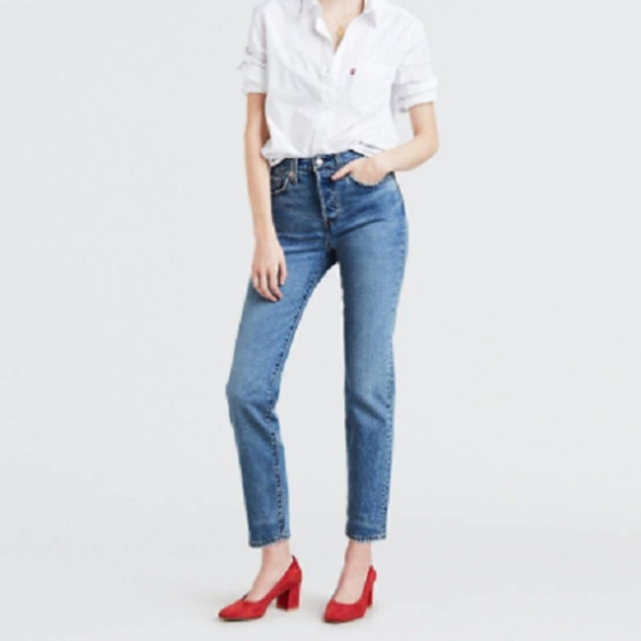 Levi's Denim - NEW Levi's Wedgie Fit Tapered Leg High Rise Jeans